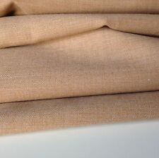 """Beautiful Italian Camel Colour Catrionic Wool Touch Suiting Fabric 62""""158cm"""
