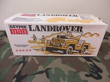 1964 VINTAGE GI JOE JOEZETA  1975 GEYPERMAN LAND ROVER SET BOXED