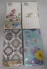 Ideal Home Range Guest Napkin Towels Lot Of 4 Different Packs All Brand New