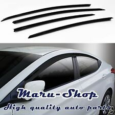 Smoke Door Window Vent Visor Deflector for 11~16 Hyundai Elantra 4DR