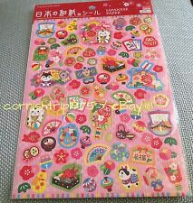 Made In Japan Kawaii Cute Animal Stickers Scrapbook Letter lucky cat Tokyo Japon