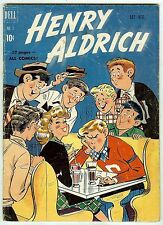 Henry Aldrich #3 (52 pages Dell 1950; vg+ 4.5) guide value: $11.00 (£6.75)