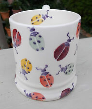 "EMMA BRIDGEWATER 2015  "" POLKA LADYBIRDS  "" HALF PINT MUG  FOR CHARITY "" EACH """