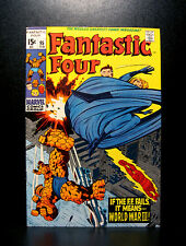COMICS: Marvel: Fantastic Four #95 (1969), Crystal leaves FF - RARE (ironman)
