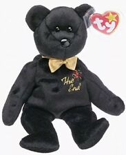 """Ty Beanie Babies """"The End"""" Bear 1999 With RARE Tag"""