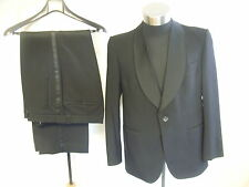 "Mens Dinner Suit Hansen chest 42"", inside leg 28"", waist 36"", pure new wool 7702"