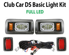 Club Car DS Golf Cart LED Light Kit, LED Headlights & LED Taillights 1993-Newer