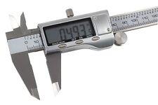 """Digital Caliper 6"""" (150mm) All metal construction - guitar repair measuring tool"""