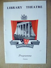 Library Theatre Programme 1957- THE GLASS MENAGERIE by T Williams