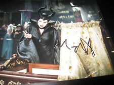 ANGELINA JOLIE SIGNED AUTOGRAPH 8x10 PHOTO MALEFICENT PROMO IN PERSON RARE X2