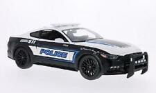 MAISTO 2015 FORD MUSTANG GT POLICE CAR 1:18 DIECAST MODEL