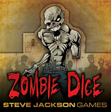 Zombie Dice, Dice Game by Steve Jackson Games, New, English