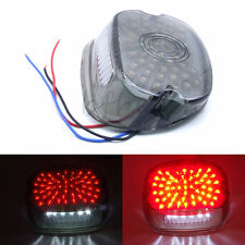 LED Tail Brake Light Lay Down Smoke for 1991-2010 Harley Sportster Softail Dyna