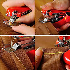 Portable Pocket Cordless Hand-held Clothes Sewing Machine Home Travel Use FT