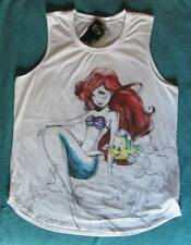 NWT Disney's The Little Mermaid Ariel Sketch Colors Muscle Top Junior Size 2X