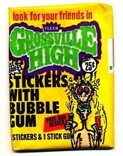 Grossville High Stickers Trading Pack