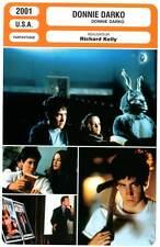 DONNIE DARKO - Gyllenhaal,Swayze,McDonnell (Fiche Cinéma) 2001