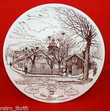 Gustavsberg Sweden Nykopingstallriken Sola NR4 1981 Decorative Wall Plate Brown
