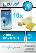 10x Ecultor Samsung Galaxy S3 screen protector protection crystal clear