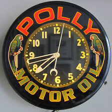 Poly Neon Clock