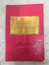 """Ford """"Quality Accessories for your added Pleasure"""" Sales Brochure 1950s"""