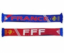 adidas France Euro 2008 Commemorative Soccer Fan Scarf Scarves New White