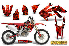 HONDA CRF 250 X CRF250X 2004-2016 GRAPHICS KIT DECALS CREATORX INFERNO R