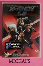 X-MEN 1.5  2-Disc X-Treme Edition with preview sticker for X-MEN 2 a collection