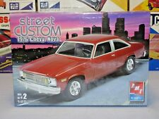 "AMT/ERTL RC2 1976 CHEVY NOVA ""STREET CUSTOM"" #38277 MPC 1/25 MINT F/S MODEL KIT"