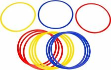 Trademark Innovations Speed and Agility Training Rings (Set of 12) 18-Inch NEW