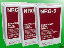 (13,30€/kg) 3x500g NRG-5 Notration, Kriesenvorsorge, Survival, Langzeitnahrung