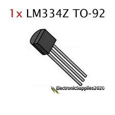 1 pcs LM334Z TO-92 Adjustable Current Sources and Temperature Sensor LM334