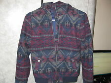 NWT HOLLISTER Hoodie Jacket Women's Sz XS Zippered Front LOOK!