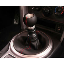 Universal Manual 6-Speed Leather Car Shift Stick Knob Shifter Gear For Toyota