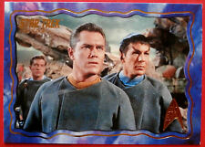 "STAR TREK TOS 50th Anniversary - ""THE CAGE"" - GOLD FOIL Chase Card #10"