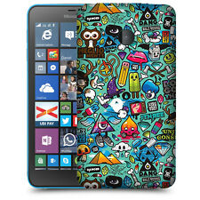 CUSTODIA COVER  per NOKIA MICROSOFT LUMIA 640  XL TPU BACK CASE STICKERS
