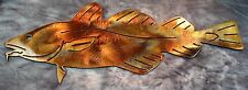 Atlantic Cod Fish Metal Wall Art