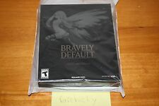 Bravely Default Collector's Edition (Nintendo 3DS) NEW SEALED MINT W/BAG, RARE!