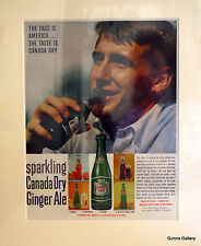 Original Vintage 1961 Advertisement ready to frame Canada Dry Ginger Ale Drink