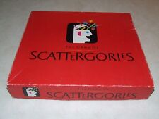 The Game Of Scattergories Board Game