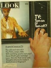 1971 Look Magazine: TV Turn-on or Turn-off?/Lucy/Dagmar