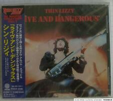 THIN LIZZY - Live And Dangerous REMASTERED JAPAN CD OBI NEU RAR PHCR-3046 SEALED