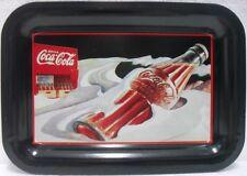 Coca-Cola - BOTTLE - brand TRAY U.S.-2 ammaccatture-anno 1991-MINI VASSOIO