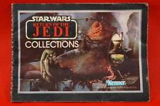 Vintage Star Wars 77 Back Mini Catalog Jabba The Hutt Return Of The Jedi ROTJ