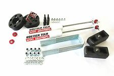 "TUNDRA 06 LIFT KIT 3"" STRUT SPACERS 2"" STEEL BLOCKS DOETSCH TECH SHOCKS 2WD USA"