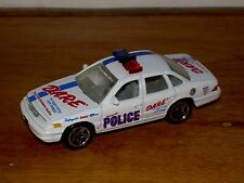 MATCHBOX FORD CROWN VICTORIA 1/64 DIE CAST LAFAYETTE POLICE CAR
