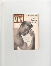 Gay Art Tomorrow's Man Muscle Bodybuilding Magazine Dick Powers August 1954