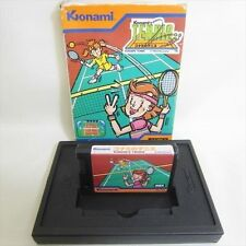 MSX KONAMIS TENNIS RC 720 Casio Import Japan Video Game No inst 0453 msx