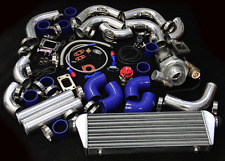 JDM V-BAND T3/T4 TURBO KIT FOR MAZDA RX7 RX8 MIATA PROTÉGÉ 5 MX5 NA NB NC