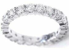 1.73 carat PLATINUM ROUND DIAMOND ETERNITY RING WEDDING BAND F color VS2 clarity